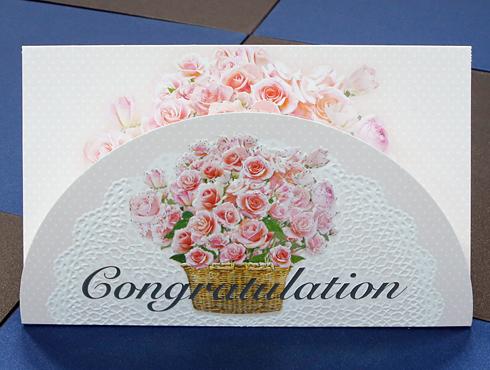 축하(꽃바구니)